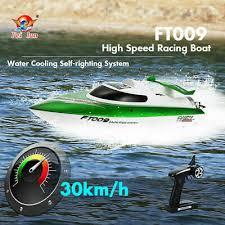 Racing Boat <b>FeiLun FT007 4CH</b> 2.4Ghz Brushless RC Kid Gift 20km ...