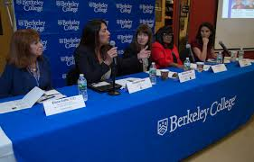 small business big impact women entrepreneurs are driving answers a question from the audience during a special event titled empowering women entrepreneurs in a global economy at berkeley college