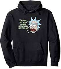 rick and morty - Hoodies / Men: Clothing, Shoes ... - Amazon.com