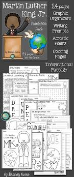 images about writing prompts early finishers martin luther king jr literacy printables pack