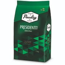 <b>Кофе Paulig Presidentti Original</b> в зернах 1 кг купить с доставкой ...