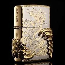 Japanese Golden Tribal <b>Dragon Zippo</b> Limited Edition | <b>Зажигалка</b> и ...