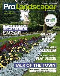 Pro Landscaper September 2015 by Eljays44 - issuu
