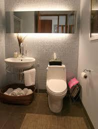 beautiful small bathroom asianminimalism grey texture walls mirror with amazing lighting floating asian bathroom lighting