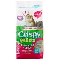 <b>Корм</b> для шиншилл и дегу <b>Versele</b>-<b>Laga Crispy Pellets</b> Chinchillas ...