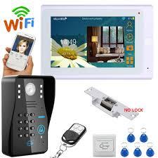 "Aliexpress.com : Buy <b>7</b>"" <b>TFT</b> Wired / Wireless Wifi <b>RFID</b> Password ..."