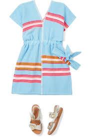 LemLem Kids   Eskedar striped cotton-blend <b>gauze</b> dress   <b>NET</b>-A ...
