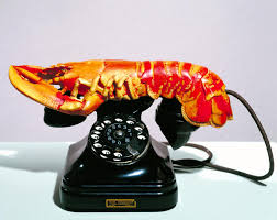 'Lobster Telephone', <b>Salvador Dalí</b>, 1936   Tate