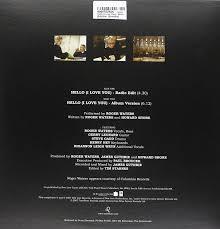 roger waters hello i love you black vinyl amazon com music
