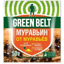 <b>Средство от муравьёв</b> муравьин, Грин Бэлт, 50г.: купить по цене ...