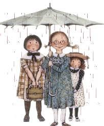 Risultati immagini per immagini di bimbi sotto la pioggia gif