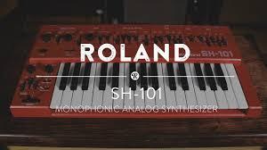 <b>Roland SH</b>-<b>101</b> Monophonic <b>Analog Synthesizer</b>   Reverb Demo ...