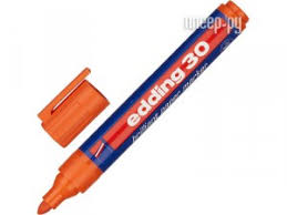 <b>Маркер</b> Edding E-30/006 <b>1.5</b>-<b>3mm</b> Orange 719661