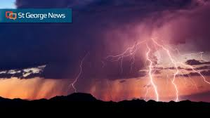 Lightning sends electric surge on wild path into Logandale home ...
