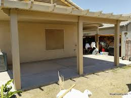 outdoor patio covers built by royal covers of arizona in san tan valley az brown covers outdoor patio