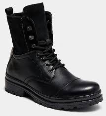 <b>Высокие ботинки</b> мужские HUNTER (цвет черный, натуральная ...