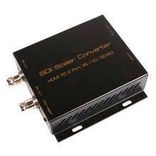 wholesale sdi splitter 1x4 multimedia split extender adapter support 1080p tv video for projector monitor camera