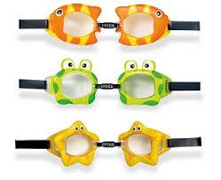 """<b>Intex</b> 55603 <b>Очки</b> для плавания """"<b>Fun</b>"""" от 3 до 8 лет, 3 вида купить ..."""