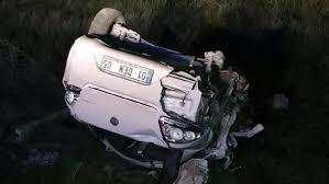 Elazığ'da trafik kazası: 2 ölü 1 yaralı