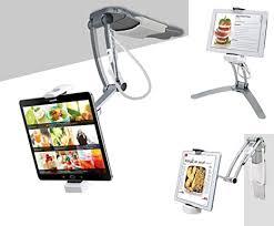 CTA Digital: 2-in-1 Kitchen Tablet Stand Wall/Desktop ... - Amazon.com