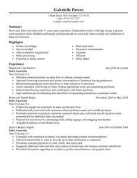 sales associate resume example psychology resume samples