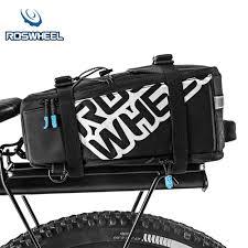 <b>ROSWHEEL</b> 5L Nylon Waterproof <b>Mountain Bike</b> Road Bicycle <b>Bag</b> ...