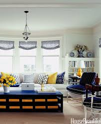 blue and yellow living room buy living room
