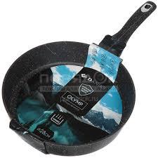<b>Сковорода с мраморным покрытием</b> Daniks Мрамор Олимп ...