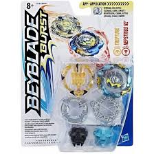 <b>Hasbro BeyBlade 2 волчка</b> в упаковке Burst Treptune и Nepstrius ...