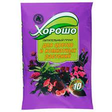 <b>Грунт Селигер</b>-<b>Агро</b> для <b>цветов</b> и комнатных <b>растений</b> 10 л ...