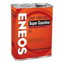 <b>Моторное масло ENEOS</b> Super Gasoline SL 10W-40 4 л — купить ...
