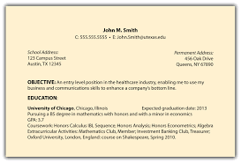 science resume sample with education in university of utah and