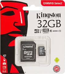 Купить <b>Карта памяти microSDHC</b> UHS-I U1 <b>KINGSTON</b> Canvas ...