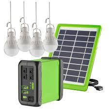 DC Light <b>Kit</b> - <b>10W Solar Panel</b> - 4 Lights – Ellies Electronics