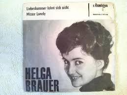 """Biete gut erhaltene Vinyl-EP 17 cm """"<b>Helga Brauer</b>"""" von 1964 - vinyl_ep_single_helga_brauer"""