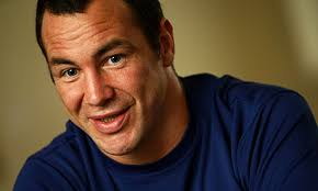 A minor back injury has forced the Warrington prop forward Adrian Morley out of Sunday's Garry Purdham memorial game. Photograph: Vaughn Ridley/swpix.com ... - Adrian-Morley-006