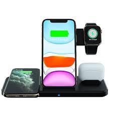 China Wireless Charger <b>15W Foldable Wireless</b> Charging Stand 4 ...