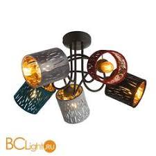 Купить <b>потолочную люстру Globo</b> Ticon <b>15266</b>-<b>5D</b> с доставкой по ...