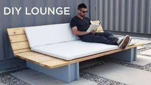 DIY Outdoor <b>Lounge Sofa</b> - YouTube