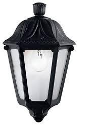 Уличный настенный <b>светильник Ideal Lux Anna</b> AP1 Small Nero ...