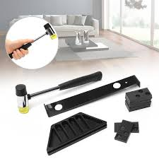 <b>Wood</b> Laminate Flooring Installation Tool Floor Fitting <b>Kit</b> with <b>20pcs</b> ...