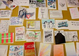Greeting Cards for Wisconsin Prisoners Milwaukee Institute of Art   Design Prisoner Card Project