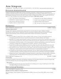 server skills resume  bank teller resume skillsresume objective    database administrator resume by liamei