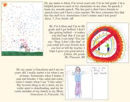 drawings and letters from kids stuttering foundation a ca