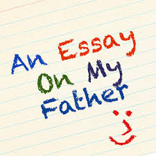 an essay on my father script the skit guys