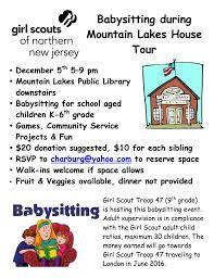 virtual backpack  house tour babysitting