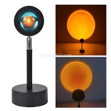 Sun <b>Sunset</b> Rainbow <b>Projector</b> Atmosphere Night <b>Light Lamp</b> USB ...