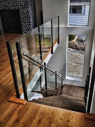 Custom Stair Railing Picture Gallery Of Our Custom Glass Railings Interior Exterior