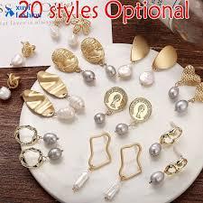 20 Style <b>Vintage Geometric Irregular</b> Freshwater <b>Pearls</b> Drop ...