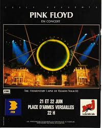 The <b>poster</b> for Pink Floyd's pair of shows at the... | Виниловые ...